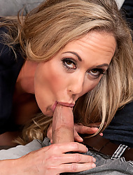Brandi Love is a hot MILF with big breasts and loves to obtain fucked.