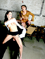 MilfSlutsGoneWild.com -This waiter has to serve his cock and some cum!